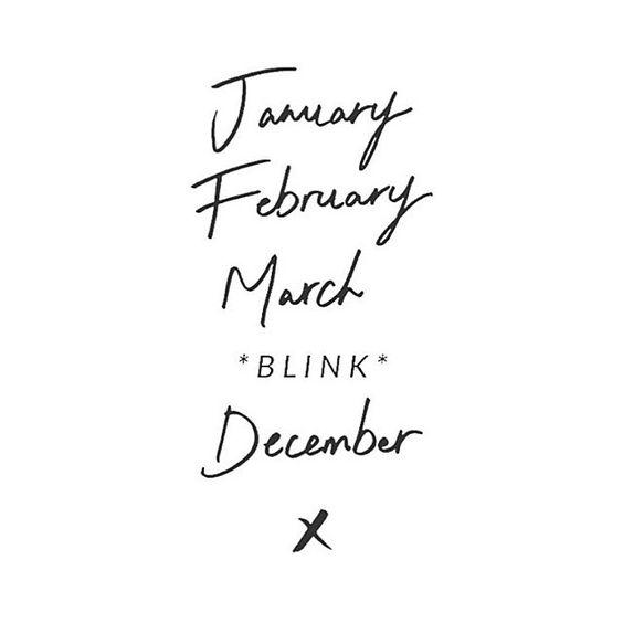 March BLINK December