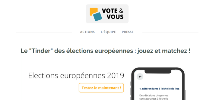 Vote et vous